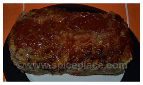 Prepared Spatini Turkey Meatloaf