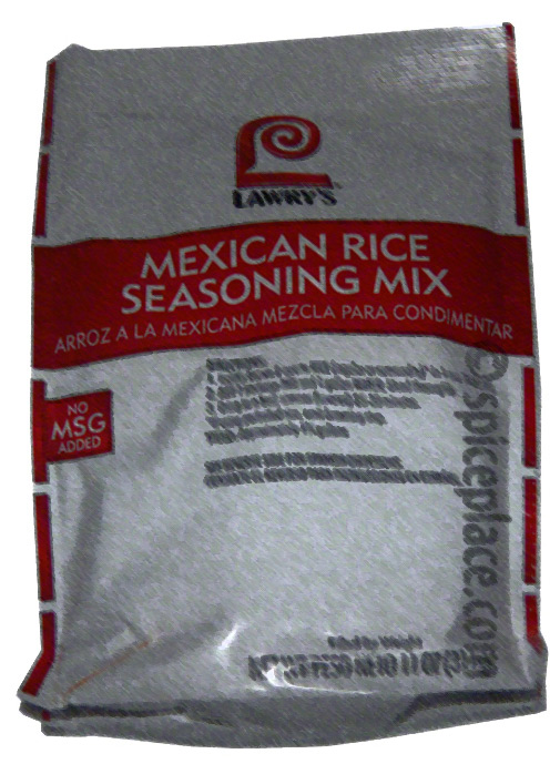 Picture of Package of Lawry&#039;s Mexican Rice Seasoning Mix