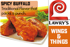 Lawry's Wings And Things Sricha Seasoning Description