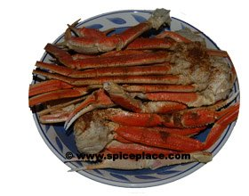 Picture of Snow Crabs Legs with Old Bay Seasoning