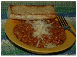 Prepared Spatini Spaghetti Sauce