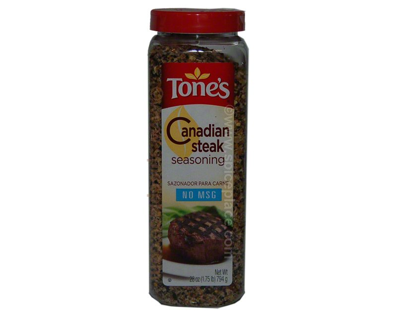  Tones Canadian Steak Seasoning 28oz 794g 