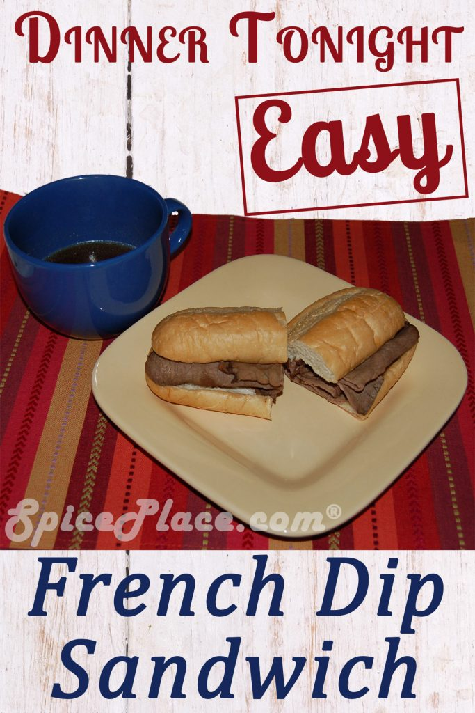 French Dip Sandwich #FrenchDip #FrenchDipSandwich