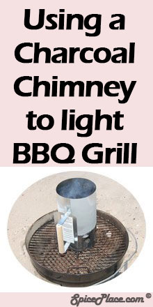 Using a Charcoal Chimney