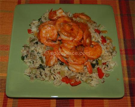 Spicy Old Bay Seasoned Shrimp