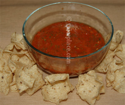Roasted Tomato Salsa