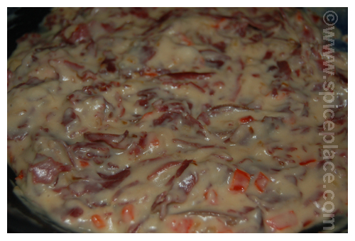 Creamed Chipped Beef In Pan