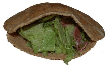 Pastrami Pita Sandwich