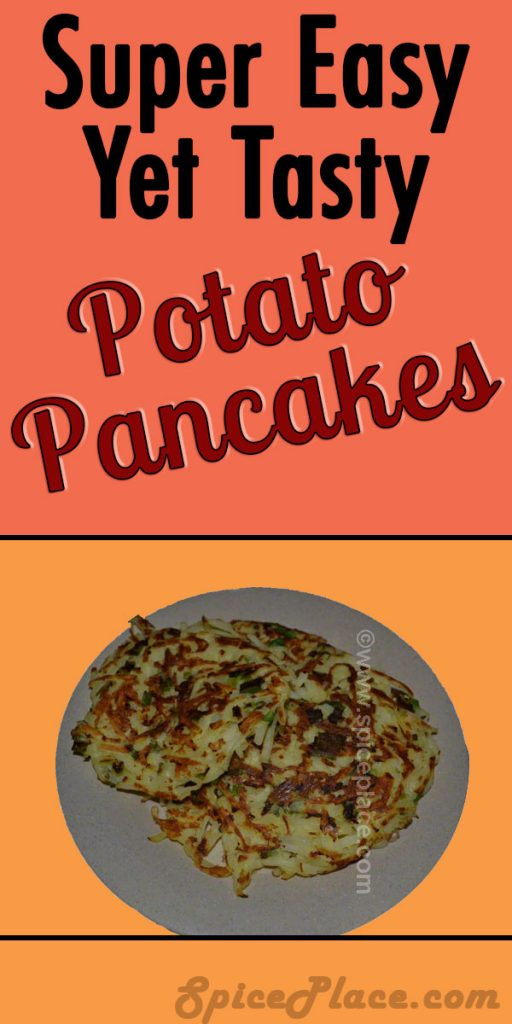 Easy To Make Potato Pancakes (Blini)