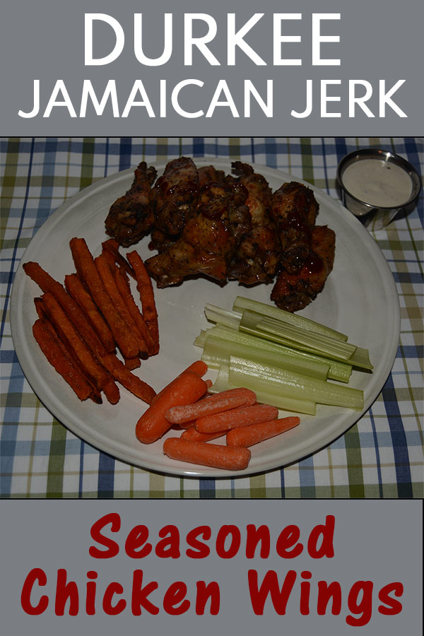 Durkee Jamaican Jerk Seasoned Chicken Wings