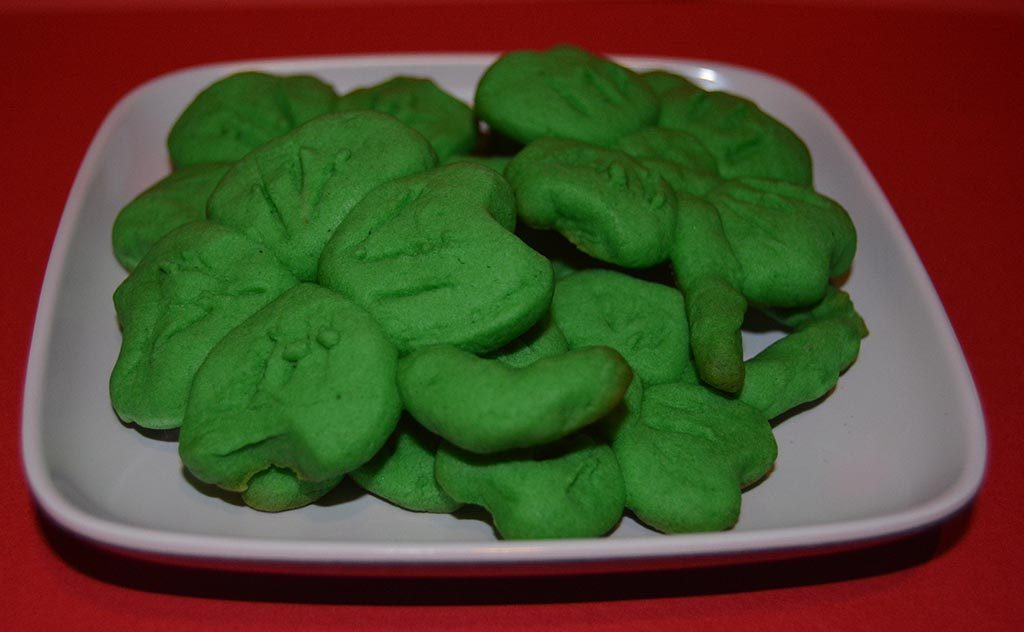 Saint Patrick's Day Peppermint Patty Cookies
