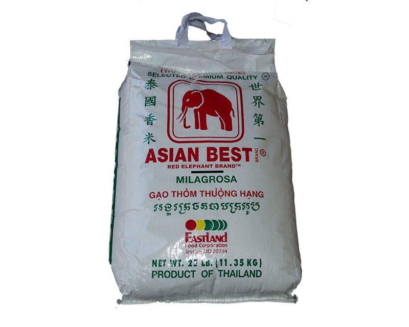 Asian Best Jasmine Rice 25lbs 11 35kg 48 17usd Spice Place