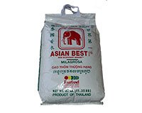 Asian Best Jasmine Rice 25lbs 11.35kg