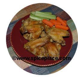 Buffalo Chicken Wings Serving