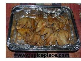 Buffalo Chicken Wings in Half-Pan