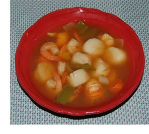 Cacciucco Soup in a bowl