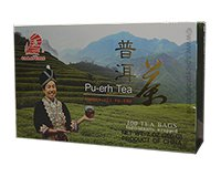Caravelle Pu-erh Tea Carton of 100 Tea Bags