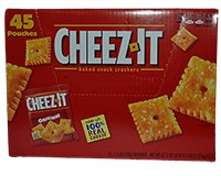 Cheez-It Baked Snack Crackers 45ct