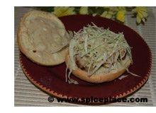 Chicken Meatball Sandwich