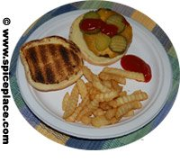 Picture of lunch served on a Chinet Plate  sc 1 st  Spice Place & Chinet Paper Plates Dinner 165 count $26.41USD - Spice Place