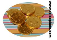 Picture of Chocolate Gold Coins