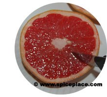 Cutting Grapefruit Sections