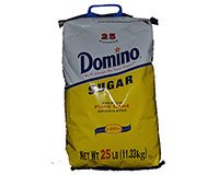 Domino Pure Cane Granulated Sugar 25 Pounder