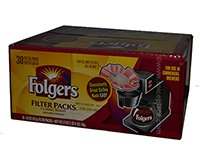 Folgers Classic Roast Coffee Filter Packs 30 Packs