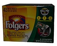 Folgers Classic Roast Decaffeinated Coffee