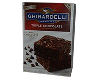 Ghirardelli Triple Chocolate Brownie Mix, 6 pack