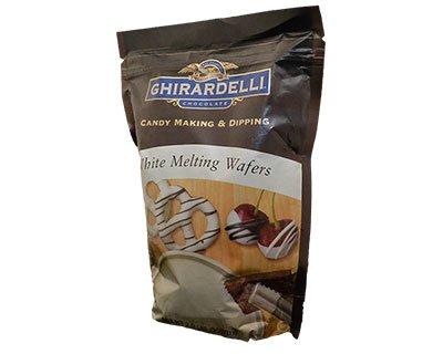 Ghirardelli White Melting Wafers 1lbs 14oz 851g 16