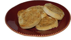 Garlic Bread made with Johnny's Garlic Spread