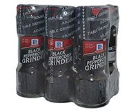McCormick Black Pepper Grinder 6 x .85oz 24g