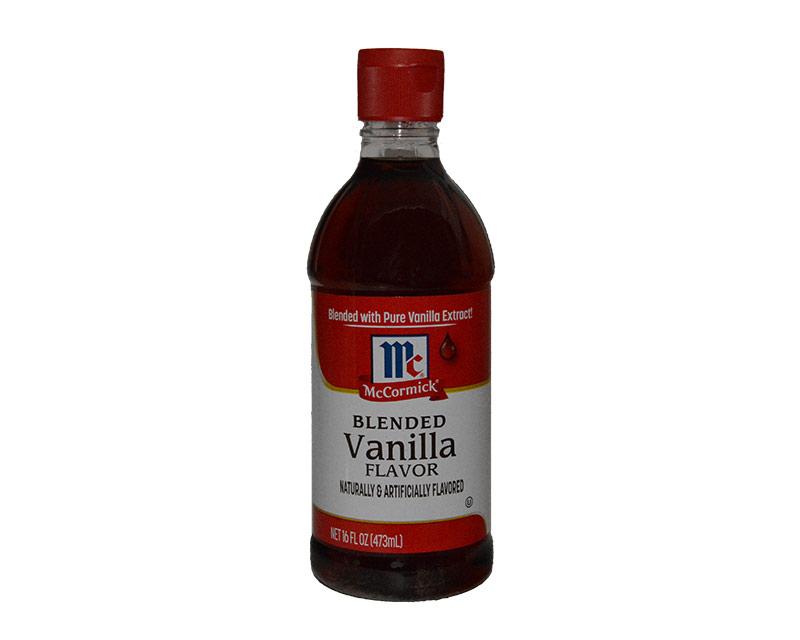 McCormick Blended Vanilla Flavor 16oz