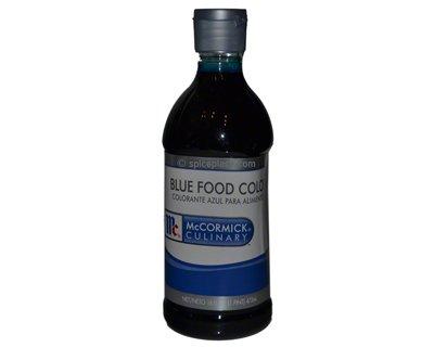 McCormick Blue Food Color 16 oz 0.47L $9.24USD - Spice Place