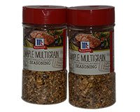 McCormick Maple Multigrain Seasoning 2 x 7.5oz 212g