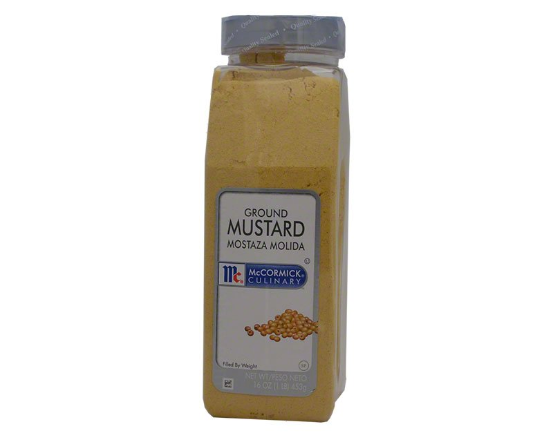 Mccormick Mustard Ground 16oz 1lb 453g 10 91usd Spice Place