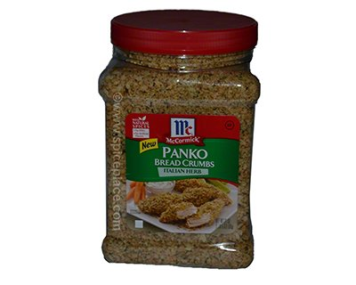 Italian seasoning bread crumbs