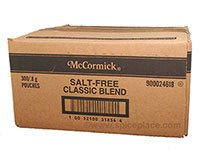 McCormick Classic Blend Salt-Free 300 Packets