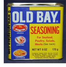 Picture of can of Old Bay Seasoning
