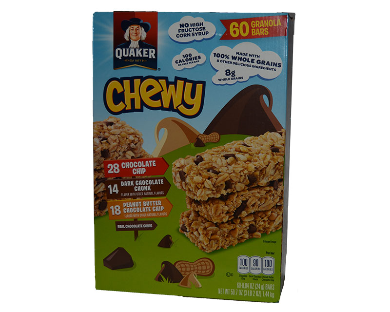 Quaker Chewy Granola Bars 60ct Variety