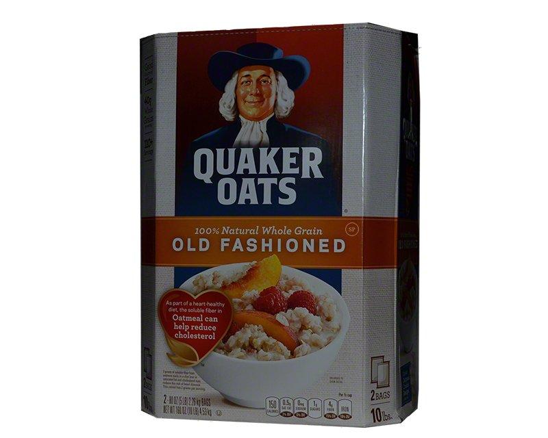 Quaker Oats Old Fashioned Oatmeal 10lbs