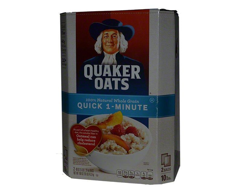 Quaker Oats Quick Instant Oatmeal 10lbs