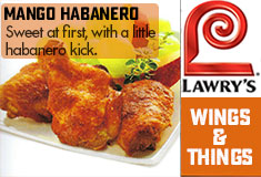 Lawry's Wings & Things Mango Habanero Seasoning Description