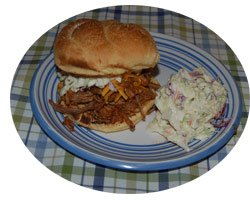 Picture of Barbecued Pork Sandwich