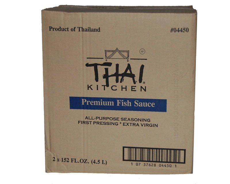 Thai Kitchen Premium Fish Sauce Case Of Two 152 Fl Oz 4.49L Jugs $34.43USD    Spice Place