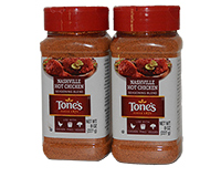 Set of 2 8oz 227g bottles of Tones Nashville Chicken