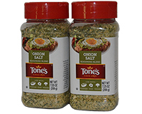 Tones Onion Salt Seasoning 2 x 7.25oz 206g