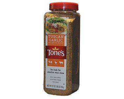 Tones Tuscan Garlic Seasoning 27oz 766g 13 94usd