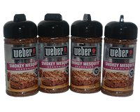 Weber Smokey Mesquite Seasoning 4 x 6 oz (684g)